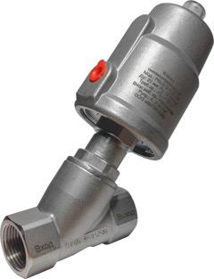 Клапаны пневмоуправляемые KIPVALVE PNU212 (вход под диском)